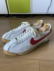 Men 10.5us 80s Vintage Nike Leather Cortets Waffle Trainer Made In Korea 10