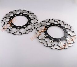 Front Brake Disc Rotor For Yamaha Yzf R1 2015-2018 Yzf R6 2017-2018 Vmax1700