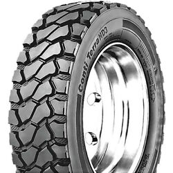 4 Tires Continental Contiterra Hd3 245/70r19.5 Load H 16 Ply Drive Commercial