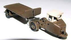 Scammell Mechanical Horse Flatbed Lorry E4 Unpainted N Gauge Scale Models Kit