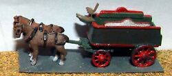 Brewery Dray Horse Drawn E23 Unpainted N Gauge Scale Langley Models Kit 1/148
