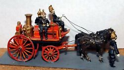 Shand Mason Horse Drawn Fire Engine Horses G17 Unpainted Oo Scale Models Kit
