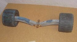 Roller Assembly For Boat Trailer Two Wheel