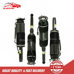 4x Front Rear Abc Strut Hydraulic Shock For Mercedes W220 S Cl Class 2000-06