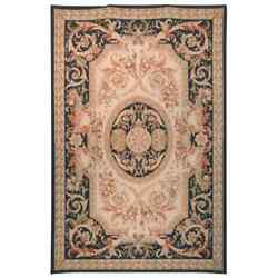 Safavieh Hand-knotted French Aubusson Beige Wool Rug