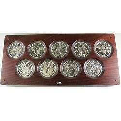 Tokyo 2020 Olympic Games 1000 Yen Commemorative Sv Proof Coin Complete Set F/s