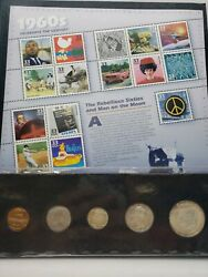 1960s A Century Of United States Coins And Stamps 90 Silver
