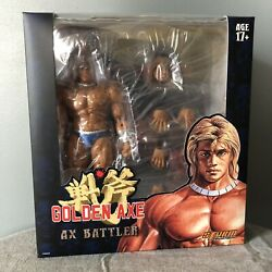 Golden Axe Ax Battler And Red Dragon By Storm Collectibles Figure
