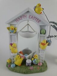 Rare Large Yankee Candle Happy Easter Hanging Wax Tart Melts Warmer Chicks