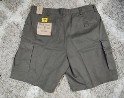 Vintage Duck Head Cargo Shorts Menand039s Size 40 Green Khaki Olive
