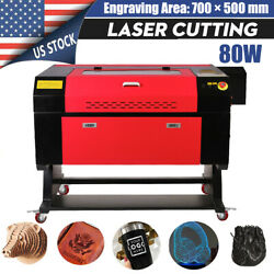20x28 80w Co2 Laser Cutting Machine Engraving For Wood Bamboo Crystal Marble