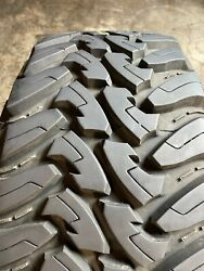Used Lt 35x12.50r20 Toyo Open Country M/t - 125q - 17/32 No Repairs