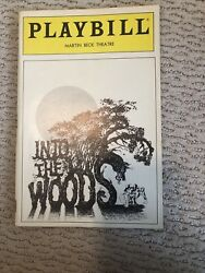 Into The Woods Preview Cover Broadway Playbill