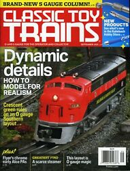 Classic Toy Trains Magazine September 2021 How To Model For Realism