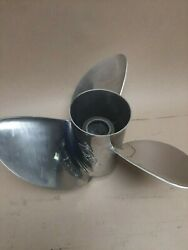 Used Brp Rx3 14 71/2 X 19 Stainless Propeller 177355
