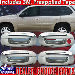 2002-2009 Chevy Trailblazer 2003-2007 Cts Chrome Door Handle Covers No Psgr Kh