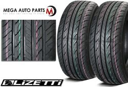 2 New Lizetti Lz-es1 185/65r14 86h Extra Value All Season Performance Tires