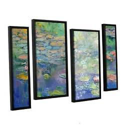 Artwall And039michael Creeseand039s Waterand039 4-piece Floater Framed Extra Large