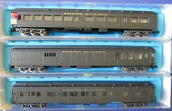 Rivarossi/con-cor - Vintage N Scale Great Northern Hw Passenger Cars - Qty 3