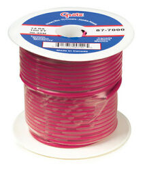Grote 88-5000 Gpt General Purpose Thermo Plastic Wire - Length 1000and039 Red