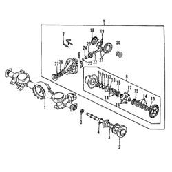 Differential Case Kit For Mitsubishi Mr165540