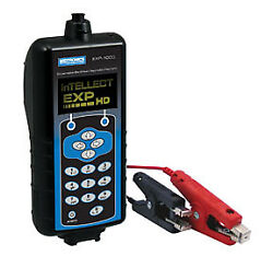Heavy Duty Battery And Electrical System Analyzer W/clamps Amp-clamp And Case