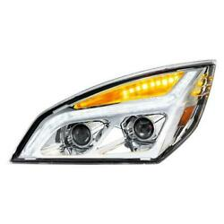 United Pacific 35819 Chrome Led Projection Headlight Lh With Led Position Light