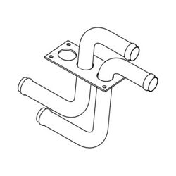 Freightliner Tbb 177442 - Bulkhead Fitting With Grom