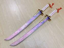 Monster Hunter Cosplay Weapons And Props Fox Double-edged Akatsuki Sora 80cm