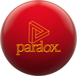 New Track Paradox Red Bowling Ball 15 Lbs W Free Grip Sack Auction Below Cost
