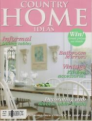 Country Home Ideas Informal Dining Tables, Bathroom Mirrors, Vintage Kitchen Acc