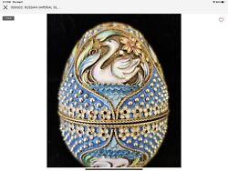 Russian Imperial Silver And Cloisonne Egg,mc