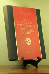 Atlas Dand039anatomie Stereotaxique By Jean Talairach Signed First Edition 1957