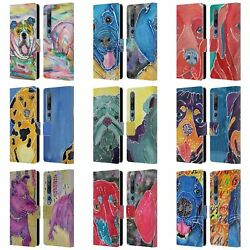 Official Lauren Moss Dogs Leather Book Wallet Case Cover For Xiaomi Phones