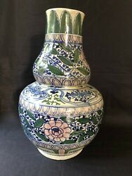 Antique Porcelain Large Chinese Vase With Special Marks Bottom