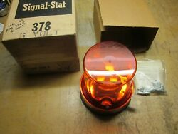 Signal Stat 6 Volt Revolving Light Circa 60and039s 70and039s
