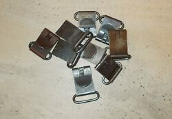 Set Of Four Wwii Swedish Mauser Rifle Sling Clips