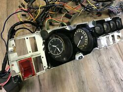1968 69 70 Charger R/t Gtx Roadrunner B Body Rally Dash And Wiring Harness P-w