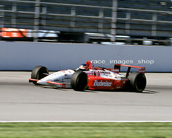 Paul Tracy 3 Budweiser 1995 Indy Car Action Shot 8x10 Glossy Photo