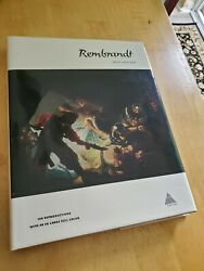 Rembrandt, Text By Ludwig Munz, 108 Reproductions, 48 In Large Full Color, Hcdj