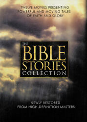 The Bible Stories Collection 12-dvd Set Box New Dvd