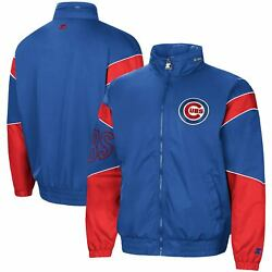 Chicago Cubs Starter The Gust Hoodie Full-zip Jacket - Royal