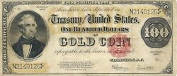 1922 Gold Certificate - Thomas Hart Benton Fr 1215 Nice Extremely Fine