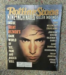 Rolling Stone Magazine Nine Inch Nails Issue 690 September 8th 1994