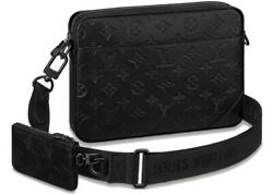 Louis Vuitton Duo Messenger Black in Leather with Black tone CSC029517 $2799.99