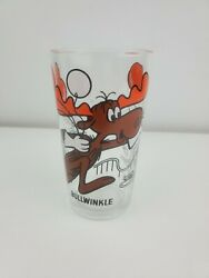 Vintage Bullwinkle Pepsi Collector Series Bullwinkle Show Drinking Glass 5