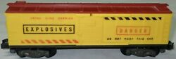 American Flyer Exploding Mine Carrier Box Car 25062