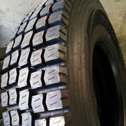 4 Tires Galaxy Dr271-g 285/75r24.5 Load H 16 Ply Drive Commercial