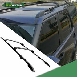4 Pieces Roof Rails Racks Cross Bars Suit Fit For 2010-2016 Land Rover Discovery