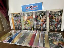 Deathmate Preview Prologue Yellow Gold Blue Black Red Epilogue Valiant Lot